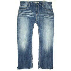 BKE Mens Derek Blue Jeans Size 36